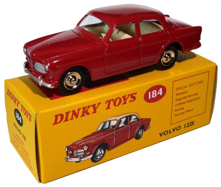 Volvo 122S (I-43) DINKY TOYS DINKY43-54725-DINKY TOYS