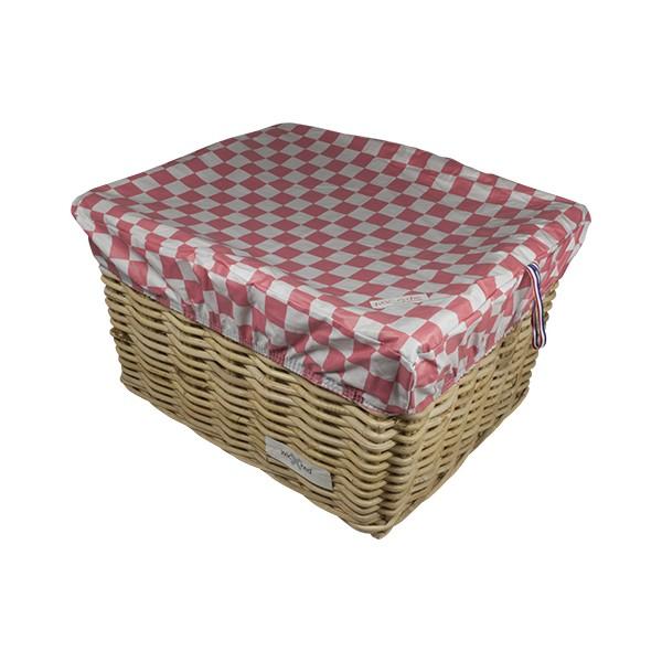 HOOODIE BOX RECHTHOEK PINK CHECKER L
