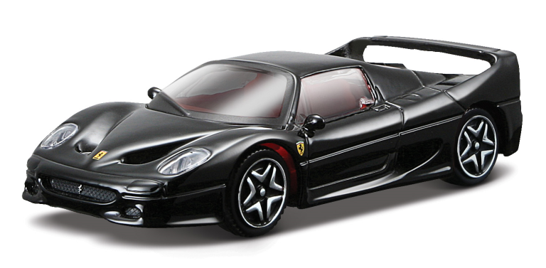 FERRARI F50 RACE & PLAY ZWART (1:43)