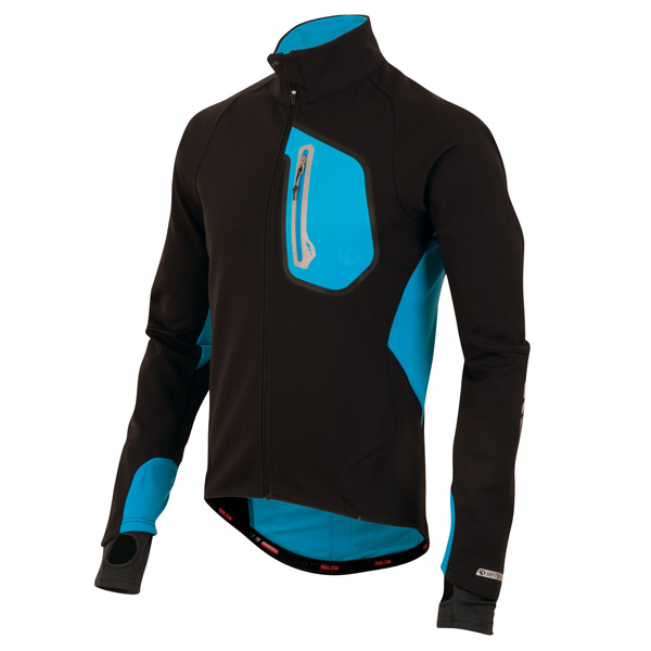 PRO SOFTSHELL 180 JACKET BLACK / ELECTRIC BLUE L