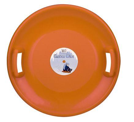 Slede Glijschotel Snow Disc Oranje