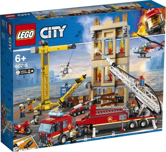 Brandweerkazerne in de stad Lego (60216)