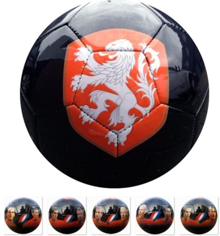 Bal Holland Leer Groot KNVB Skyline 5 Spelers