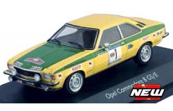 Opel COMMODORE #1 ROHRL/BERGER NORDLAND RALLY 1973 GEEL/GROEN(1:43) (TROFEU)