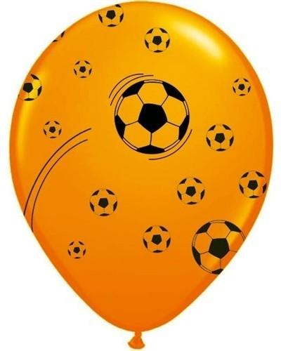 Ballonnen Holland Oranje Voetbal 100 Stuks