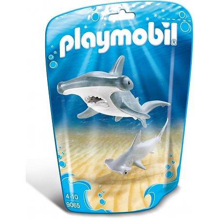 Hamerhaai met jong Playmobil (9065)