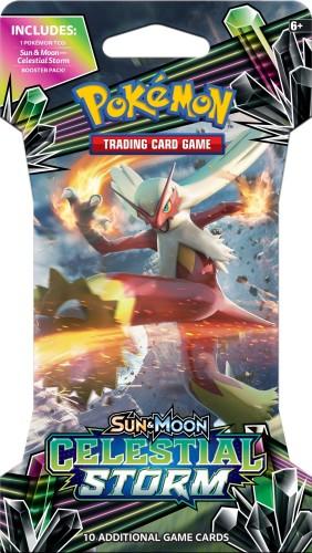 Pokemon booster SM7: Sun & Moon Celestial Storm sleeved