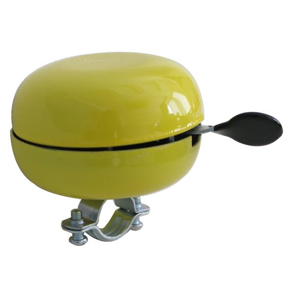 NV bel Ding Dong 80mm geel