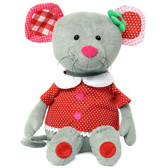Knuffel Bunny Molly Mouse LIEF rd/rz