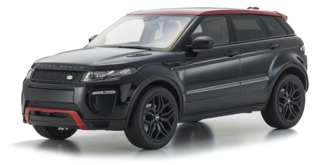 Range Rover EVOQUE HSE DYNAMICLUX (DEALER PACKAGED ITEMS) (1:18)