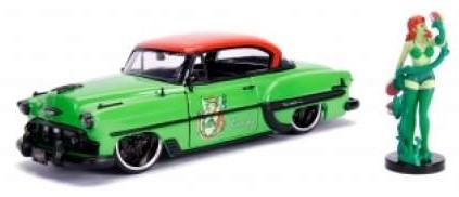 Chevrolet BEL AIR POISON IVY1953 + POISON IVY FIGUUR (30455) (1:24) JADA