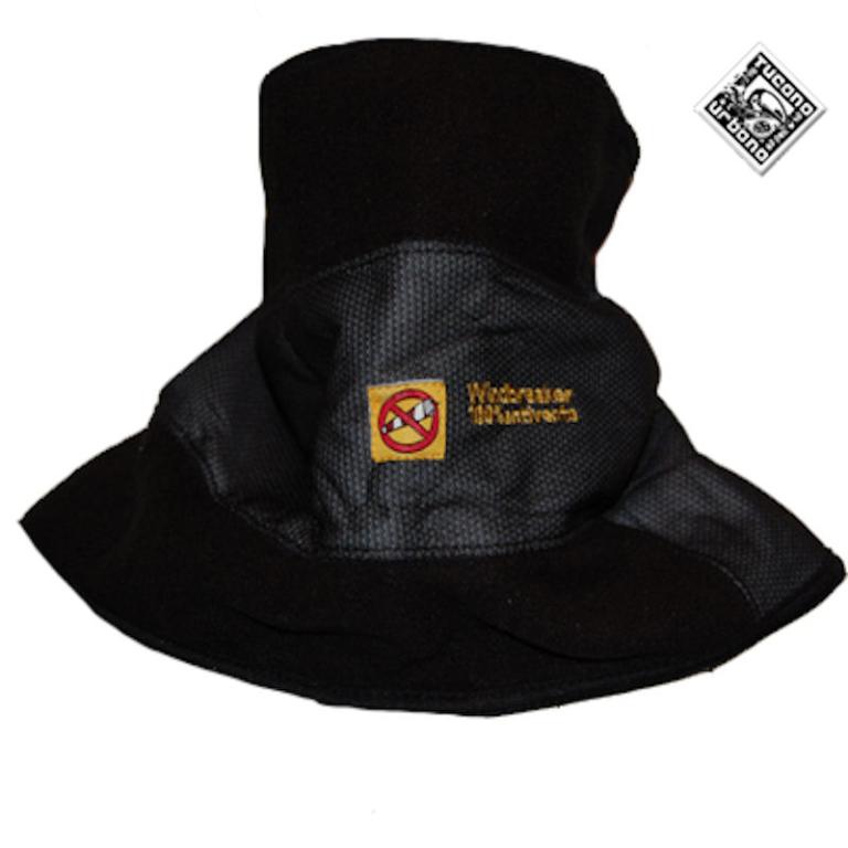 kol zwart tucano 616 collare sciarpa wb