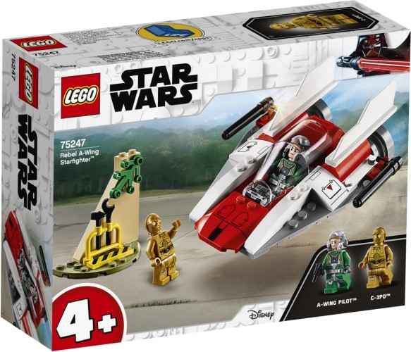 Rebel A-Wing Starfighter Lego (75247)
