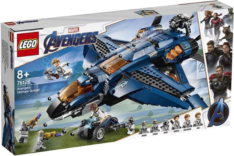 Avengers Ultimate Quinjet Lego (76126)