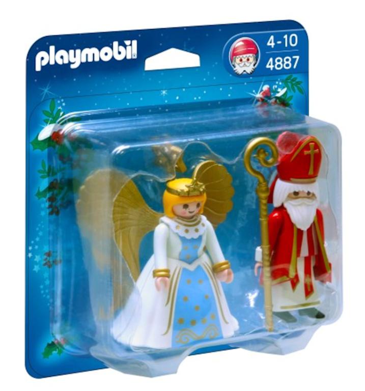 Sinterklaas met Engel Playmobil 4887