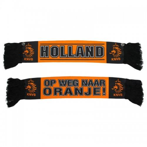 Autosjaal Holland Oranje/Zwart Sjaal