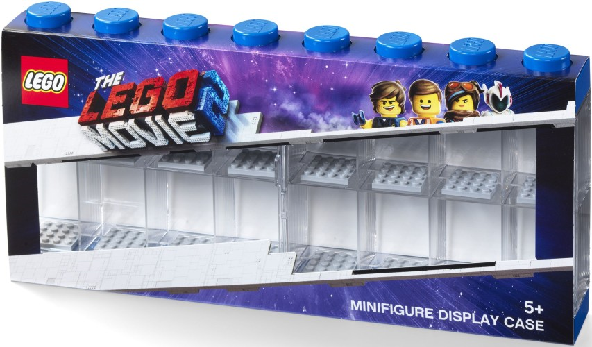 Lego Opbergbox Lego Movie 2 Minifigs Blauw 16-delig (RC031831)