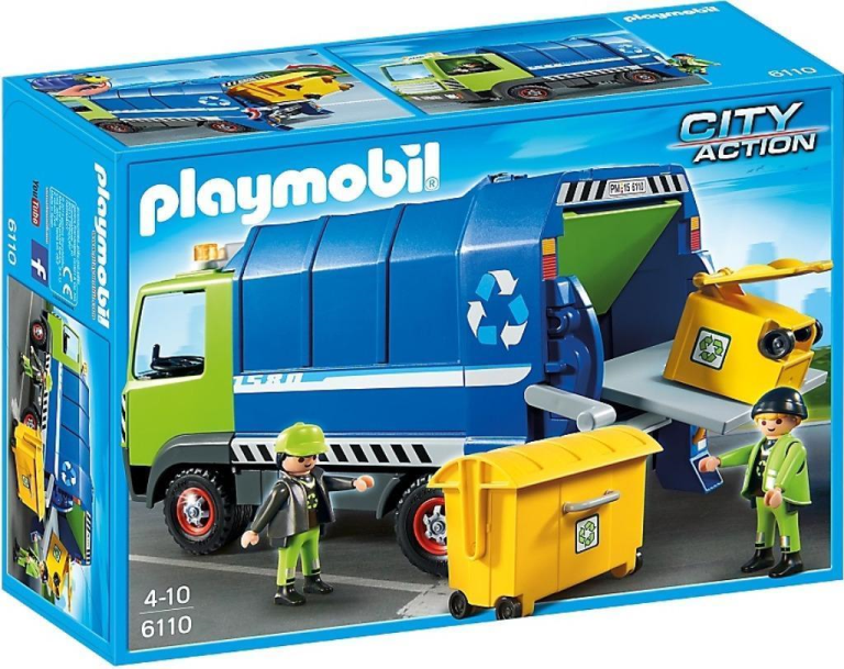 Vuilniswagen Playmobil 6110