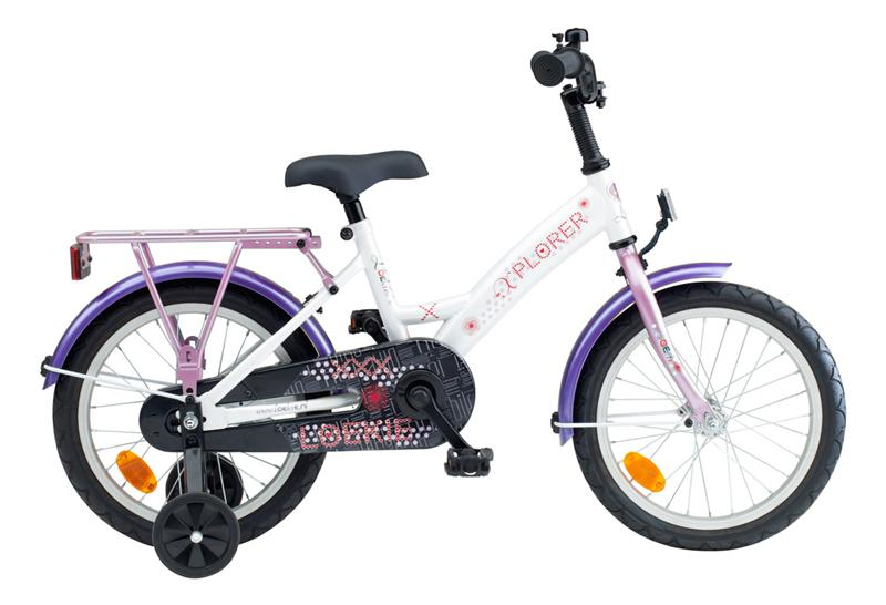 16INCH LOEKIE X-PLORER MS PINK/PURPLE