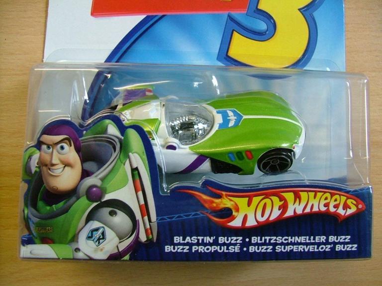 Die Cast Vehicle Blastin Buzz Toy Story 3