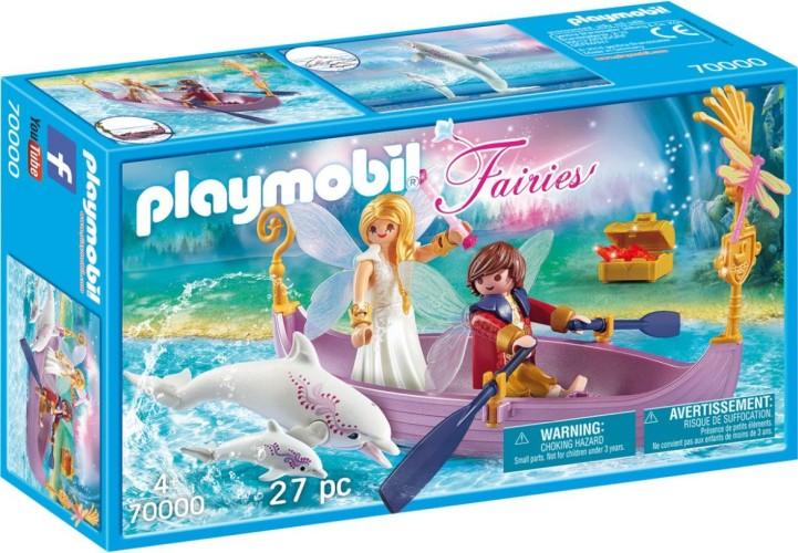 Romantisch feeenbootje Playmobil (7000)