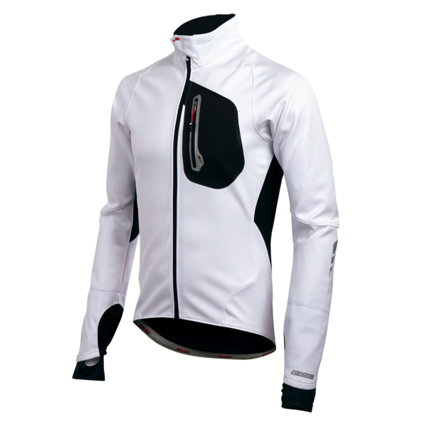 PRO SOFTSHELL 180 JACKET WHITE/BLACK S