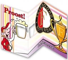 Wenskaart Feyenoord Proost!