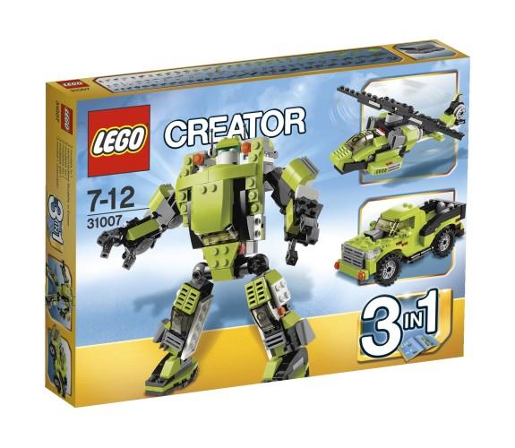 Lego 31007 Creator 3 in 1 Lego Power Robot