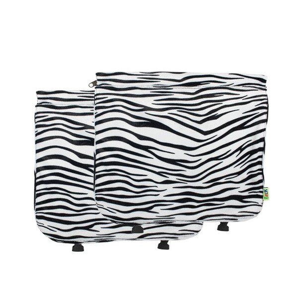 Fietstas Beck Custom flap soft zebra