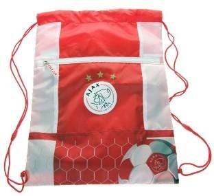 Zwemtas/Gym Tas Ajax rood/wit logo