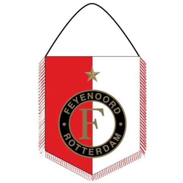 Banier Feyenoord Rood/wit Vaantje