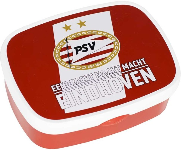Lunchbox PSV Rood/wit
