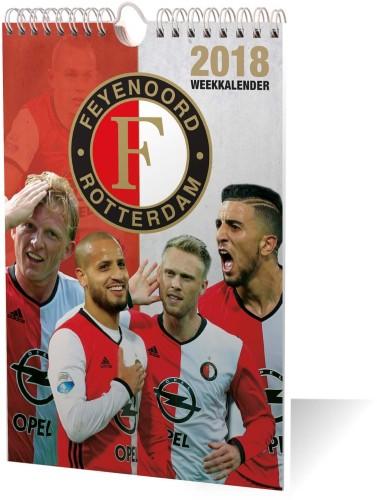Kalender Feyenoord Weekkalender 2018
