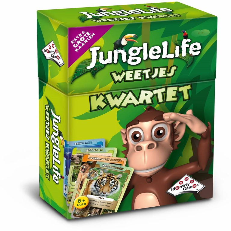 Kwartet Junglelife 01541
