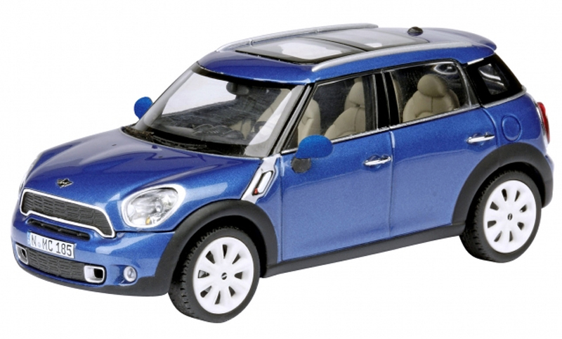 MINI COUNTRYMAN 2011 (BLAUW)(MAISTO 1:24)