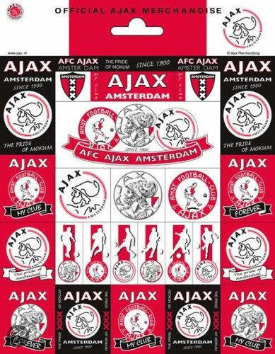 Ajax Stickers Vel Large (STIC010400)