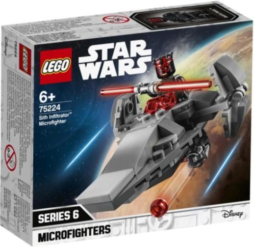 Sith Infiltrator Microfighter Lego (75224)