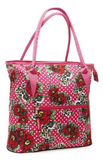 TAS CAMEO SHOPPER ROOS ROSE