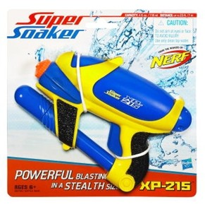 Super Soaker XP 215 Single Geel Nerf