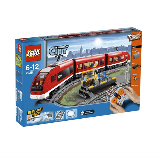 Passagierstrein Lego 7938 City