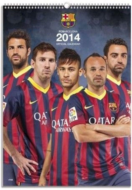 Kalender Barcelona 2014 Jaarkalender Vintage