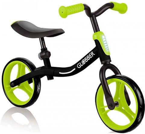 Loopfiets Go Bike Globber zwart/groen (61013)