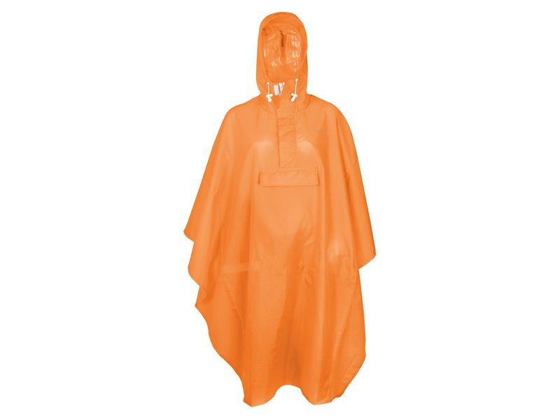 PONCHO BASIC ORANJE ONE SIZE