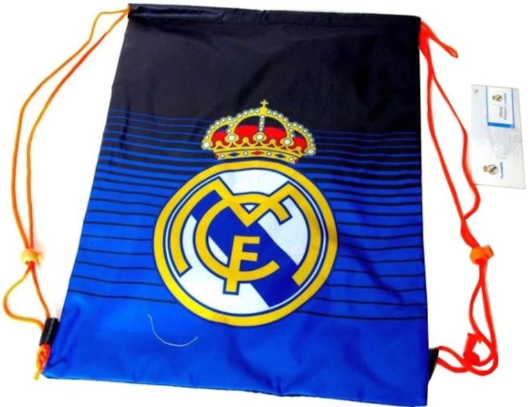 Zwemtas Real Madrid blauw/zwart