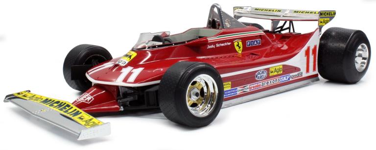 Ferrari 312 T4 11 Jody Scheckter SHORT TAIL GP REPLICARS (1:12)