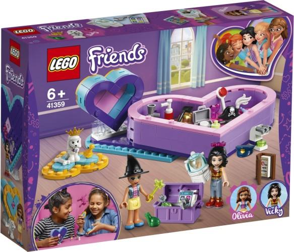 Hartvormige dozen vriendschapspakket Lego (41359)