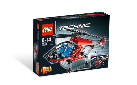Technic Lego 8046 2 in 1 Helikopter