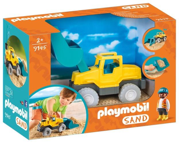 Graafmachine met schep Playmobil (9145)