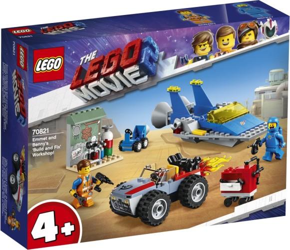 Emmet en Benny`s bouw- en reparatiewerkplaats Lego (70821)
