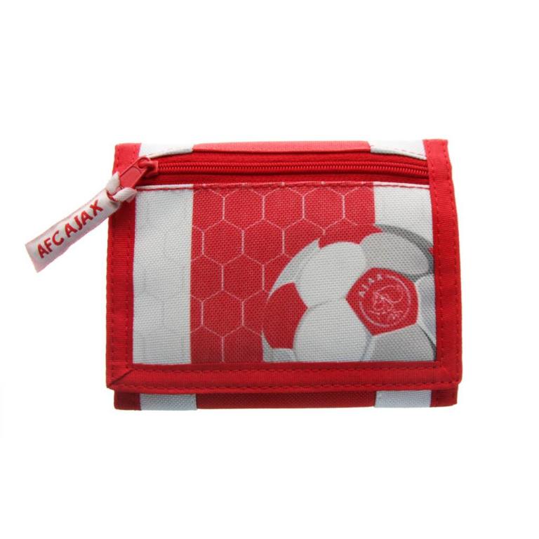 Portemonnee Ajax Groot Rood/wit Logo